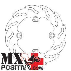 REAR BRAKE DISC FLAME KAWASAKI KX 85 2001-2014 MOTOMASTER 110214  FLAME