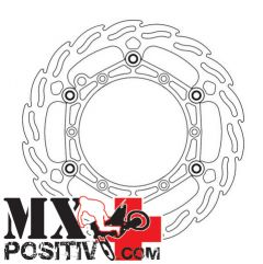 DISCO FRENO ANTERIORE MAGGIORATO KTM EXC-F 350 2012-2016 MOTOMASTER 111033 260 STEEL