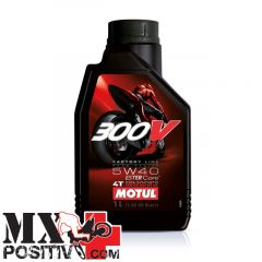 ENGINE OIL HONDA CR 125 R 1995-2007 MOTUL 300V5W40LT1 300V 5W40 1 LT