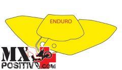 KIT ADESIVI PORTANUMERO HONDA CRF 450 X 2004-2016 BLACKBIRD 3128/B   BIANCO