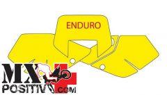 PRE CUT NUMBER PLATE SUZUKI DRZ 400 2000-2002 BLACKBIRD 3309/B   BIANCO