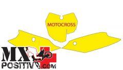 PRE CUT NUMBER PLATE KTM SXF 250 2013-2015 BLACKBIRD 3519/R   ROSSO
