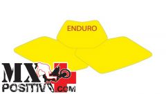 PRE CUT NUMBER PLATE HUSABERG TE 250 2011-2012 BLACKBIRD 3706/N   NERO