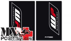 FORK STICKER HONDA CRF 250 2004-2009 BLACKBIRD 5015W  WP CARBONIO