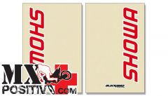 FORK STICKER HONDA CRF 150 2007-2016 BLACKBIRD 5045S  SHOWA TRASPARENTE