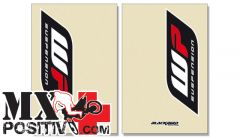 FORK STICKER HONDA CR 125 R 1993-1997 BLACKBIRD 5045W  WP TRASPARENTE