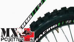 RIMS GRAPHIC KIT KAWASAKI KXF 250 2009-2012 BLACKBIRD 5081/30   verde