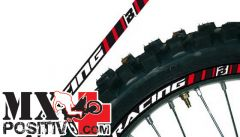 RIMS GRAPHIC KIT HONDA CR 125 R 2000-2001 BLACKBIRD 5081/60   rosso
