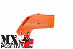 CHAIN GUIDE BLOCKS KTM 200 EXC 1998-2007 POLISPORT P8451200002   ARANCIONE