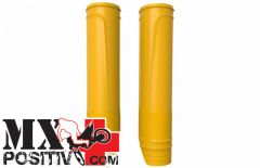 FORK SLIDERS PROTECTION  SUZUKI RMZ 250 2010-2018 POLISPORT P8463500007   GIALLO