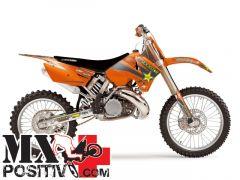 KIT GRAFICHE E COPERTINA KTM SX 250 2005-2006 BLACKBIRD 8526L