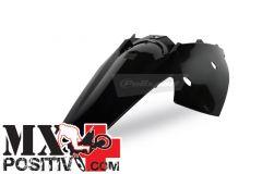 PARAFANGO POSTERIORE KTM 525 EXC 2007-2007 POLISPORT P8561300001   NERO