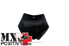 TABELLA PORTANUMERO KTM 250 SX F 2007-2012 POLISPORT P8664400002   NERO