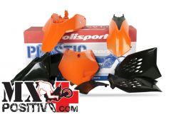 COMPLETE PLASTIC KIT KTM 65 SX 2009-2011 POLISPORT P90201  COLORE OEM 2009/2010
