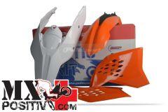 KIT PLASTICHE BASE ENDURO KTM 450 EXC 2008-2011 POLISPORT P90431  COLORE OEM 2011