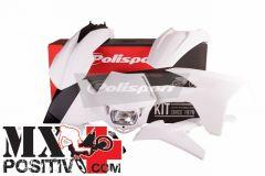COMPLETE PLASTIC ENDURO KIT KTM 500 EXC  2012-2013 POLISPORT P90505  PORTANUMERI LATERALI NON INCLUSI