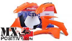 KIT PLASTICHE BASE ENDURO KTM 450 EXC 2012-2013 POLISPORT P90517  COLORE OEM PORTANUMERI LATERALI NON INCLUSI