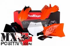 COMPLETE PLASTIC KIT KTM 65 SX 2012-2015 POLISPORT P90563  COLORE OEM 2013/2015