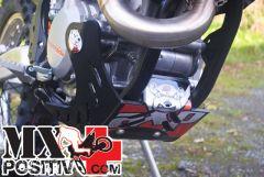 SKID PLATES MX KTM 500 EXC 2012-2016 AXP RACING AX1175 NERO