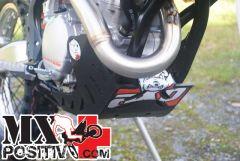 SKID PLATES MX KTM 250 EXC F 2012-2016 AXP RACING AX1185 NERO