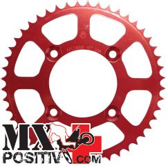 ERGAL SPROCKET HONDA CR 125 1984-2007 MOTOCROSS MARKETING CO3650.50R 50 DENTI PASSO 520 SCARICO FANGO ROSSO