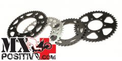 CORONA ACCIAIO KTM 525 SX 2003-2007 JT JTR897.51 51 denti Diametro 125 mm - Passo 520- Vers. SC: Autopulente e con zincatura nera