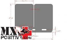 LAMELLE CARBONIO RACING V-FORCE 3 KTM 125 EXC 1998-2013 CARBONO RACING CRV674