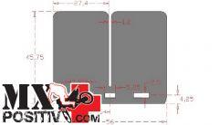 REED PETALS CARBON RACING V-FORCE 3 HONDA CR 250 2005-2007 CARBONO RACING CRV884