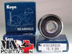 WHEEL BEARING HONDA CR 125 1995-1999 KOYO CU6004 2RS RUOTA POSTERIORE - LATO DESTRO