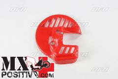FRONT DISK PROTECTION HONDA CR 125 R 1990-1994 UFO PLAST HO02661061 ROSSO / RED