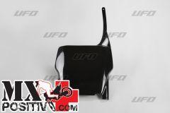 TABELLA PORTANUMERO HONDA CRF 450R 2004-2007 UFO PLAST HO03633001 NERO/BLACK