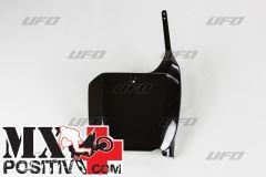 NUMBER PLATE HONDA CR 250 2000-2003 UFO PLAST HO03666001 NERO/BLACK
