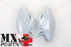 SIDE PANELS HONDA CR 125 2002-2004 UFO PLAST HO03690041 BIANCO/WHITE