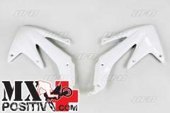 RADIATOR SCOOPS HONDA CRF 450X 2005-2007 UFO PLAST HO04600041 BIANCO/WHITE