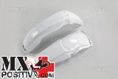 FENDERS KIT HONDA CR 125 2004-2007 UFO PLAST HOFK102041 BIANCO/WHITE
