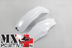FENDERS KIT HONDA CR 85 2003-2021 UFO PLAST HOFK109041 BIANCO/WHITE