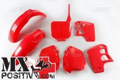 KIT PLASTICHE HONDA CR 500 1995-2000 UFO PLAST HOKIT089067 ROSSO/RED