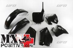 COMPLETE PLASTIC KIT HONDA CR 125 1995-1997 UFO PLAST HOKIT095001 NERO/BLACK