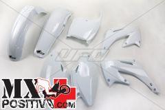COMPLETE PLASTIC KIT HONDA CR 250 2002-2003 UFO PLAST HOKIT101041 BIANCO/WHITE