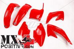 KIT PLASTICHE HONDA CR 250 2002-2003 UFO PLAST HOKIT101070 ROSSO/RED