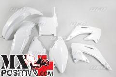 KIT PLASTICHE HONDA CR 250 2004-2004 UFO PLAST HOKIT102041 BIANCO/WHITE