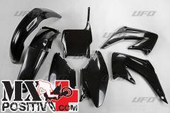 COMPLETE PLASTIC KIT HONDA CR 125 2005-2007 UFO PLAST HOKIT103001 NERO/BLACK