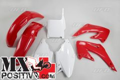 KIT PLASTICHE HONDA CR 125 2005-2007 UFO PLAST HOKIT103999 OEM ORIGINALE
