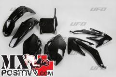 COMPLETE PLASTIC KIT HONDA CRF 450R 2005-2006 UFO PLAST HOKIT108001 NERO/BLACK