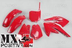 COMPLETE PLASTIC KIT HONDA CR 85 2003-2021 UFO PLAST HOKIT109070 ROSSO/RED