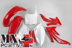 KIT PLASTICHE HONDA CRF 450R 2008-2008 UFO PLAST HOKIT110B999 OEM ORIGINALE