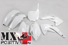 COMPLETE PLASTIC KIT HONDA CRF 150 2007-2021 UFO PLAST HOKIT111041 BIANCO/WHITE