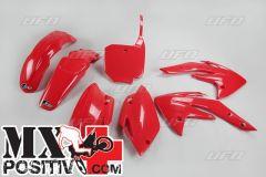 KIT PLASTICHE HONDA CRF 150 2007-2021 UFO PLAST HOKIT111070 ROSSO/RED