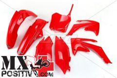 COMPLETE PLASTIC KIT HONDA CRF 250R 2011-2013 UFO PLAST HOKIT114070 ROSSO/RED