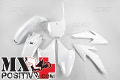 KIT PLASTICHE HONDA CRF 230  2008-2014 UFO PLAST HOKIT117041 BIANCO/WHITE